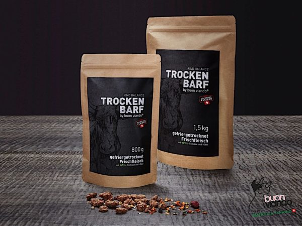 Trocken-Barf CH-Rind Balance Buonviando